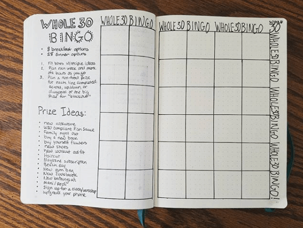 Bullet Journal Health Trackers 10