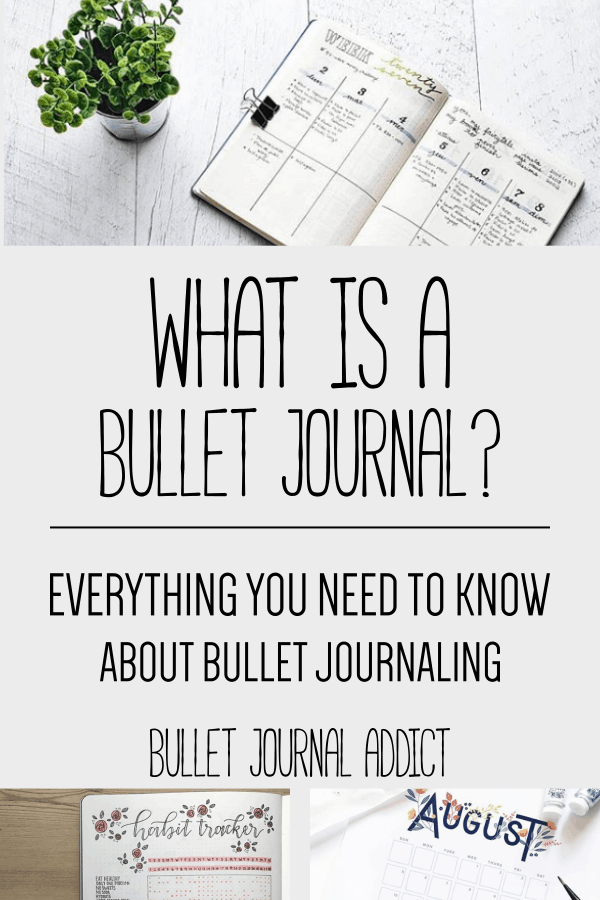 Bullet Journal Ideas - How To Start A Bullet Journal - What Is A Bullet Journal Everything You Need To Know About Bullet Journaling