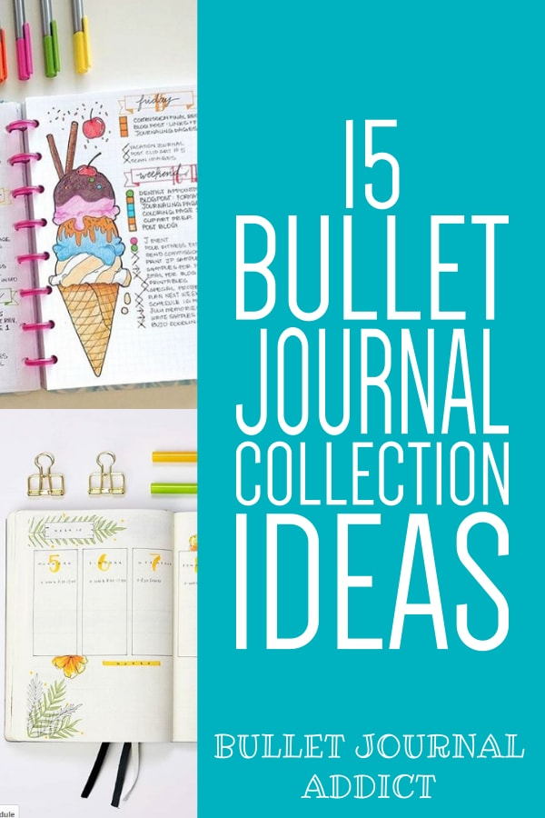 15 Bullet Journal Collections Ideas