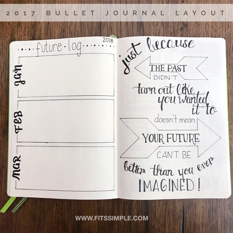 Future Log and Quote