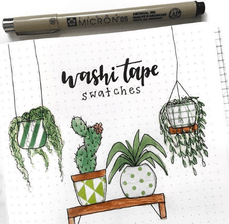 plantdoodles Washi Tape Collection