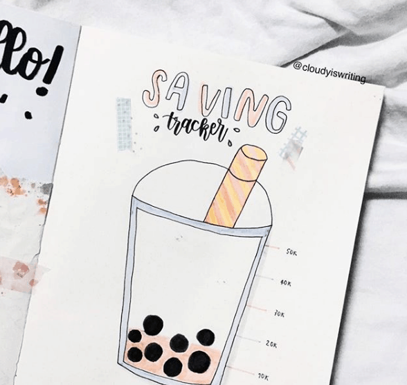 @cloudyiswriting Boba Tea Savings Tracker