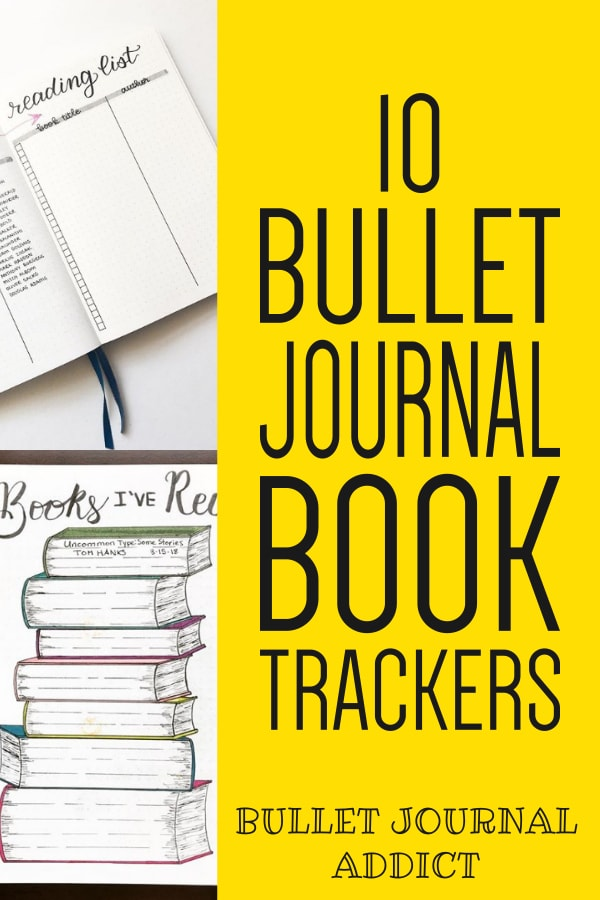 10 Bullet Journal Book Trackers