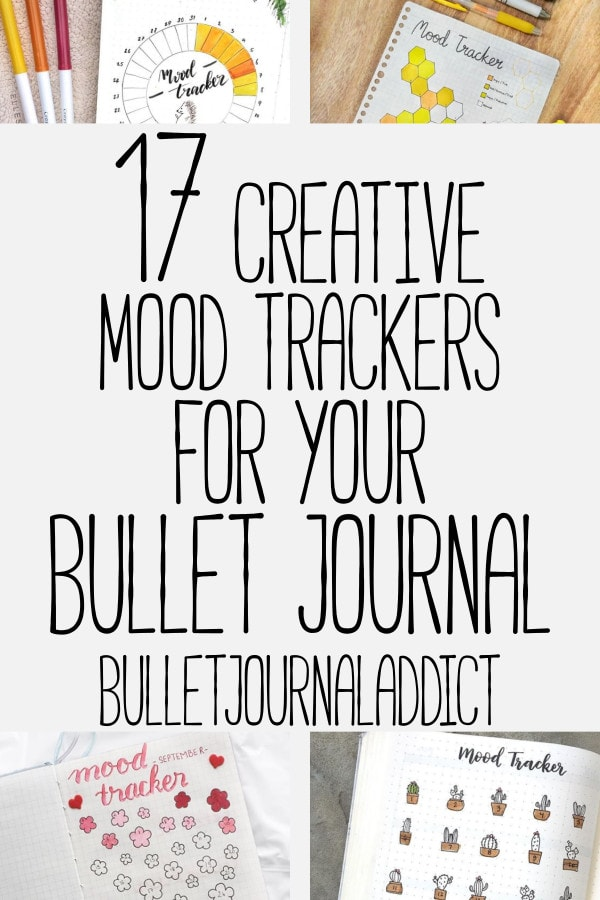 Bullet Journal Mood Trackers For Mental Health - Mood Tracker Bullet Journal Ideas for Spreads - 17 Creative Mood Trackers For Your Bullet Journal
