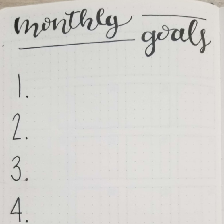 Bullet Journal Uses For Goal Planning - How To Plan Goals In Your Bullet Journal