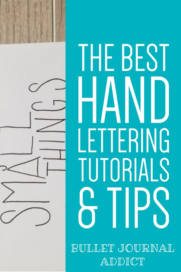 The Best Hand Lettering Tutorials and Tips