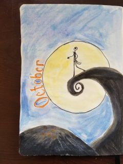 Nightmare Before Christmas Monthly Cover