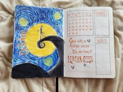 Van Gogh Nightmare Before Christmas 1
