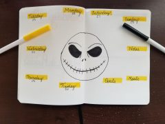 Jack Skellington Weekly Spread 4