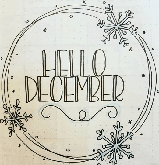 ever.ellis Hello December Cover Page