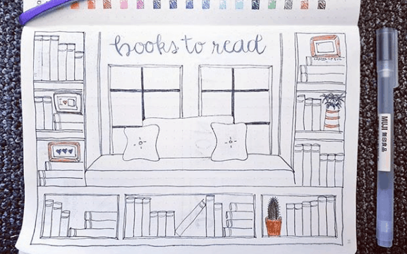 jx3anne Bookshelf and Reading Nook Spread