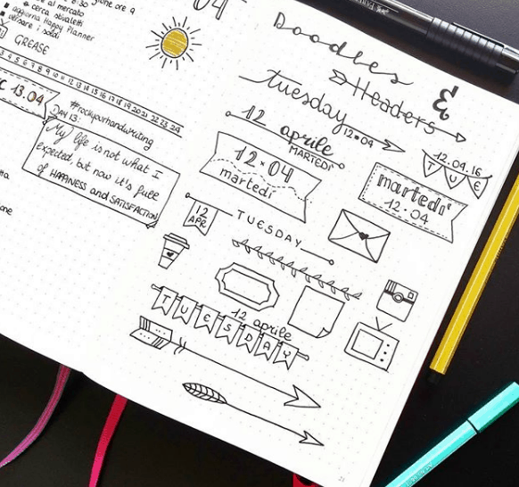 planmyday_ Doodles and Headers