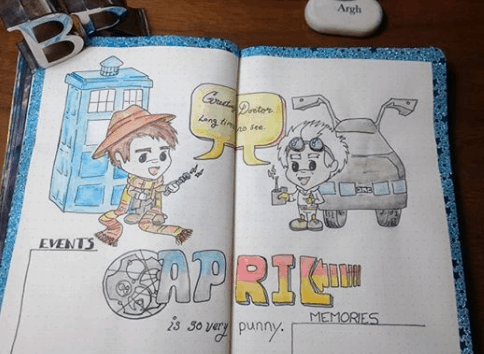 totally_todorovich Doctor Who Meets Back To The Future Hello April
