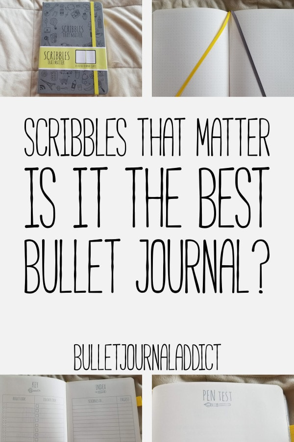 Bullet Journal Supplies and Reviews - Scribbles That Matter Bullet Journal Review - Best Bullet Journals - Scribbles That Matter Is It The Best Bullet Journal