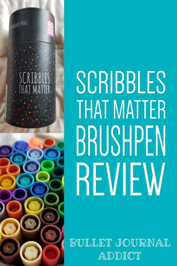 Scribbles That Matter Brush Pen Review