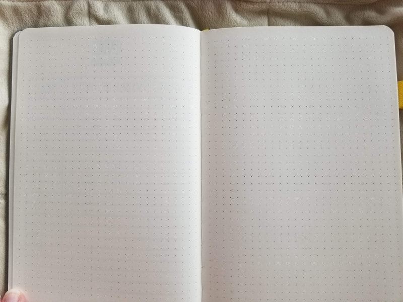 Scribbles That Matter Journal Review - Dotted Pages