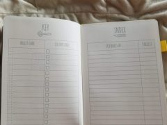 Scribbles That Matter Journal Review - Key and Index Pages