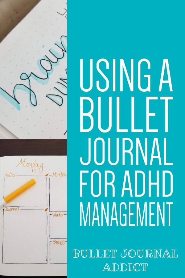 Using A Bullet Journal For ADHD Management
