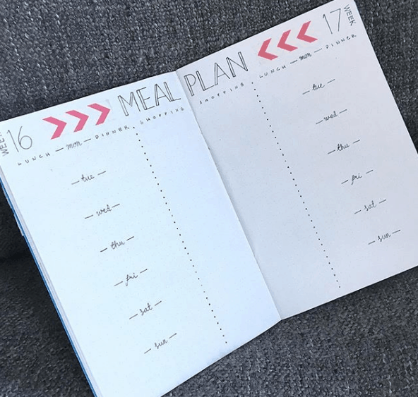 sannasbujo Two Week Meal Plan