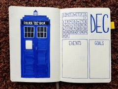 Doctor Who Monthly Spread