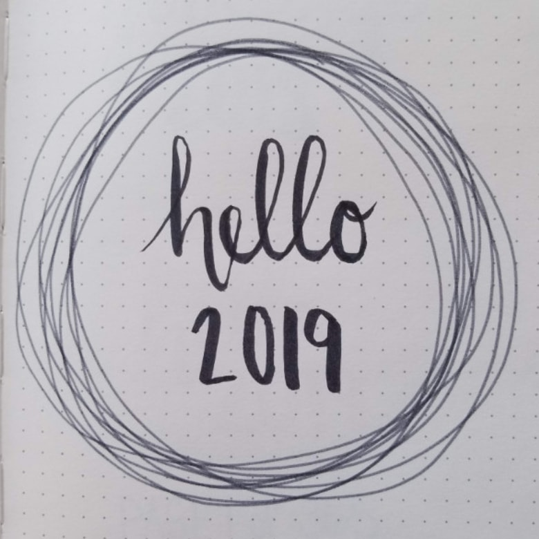 Bullet Journal New Year Cover Ideas