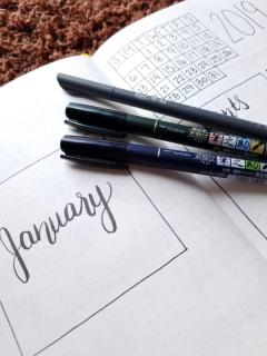 Minimalist Bullet Journal Set Up - Supplies