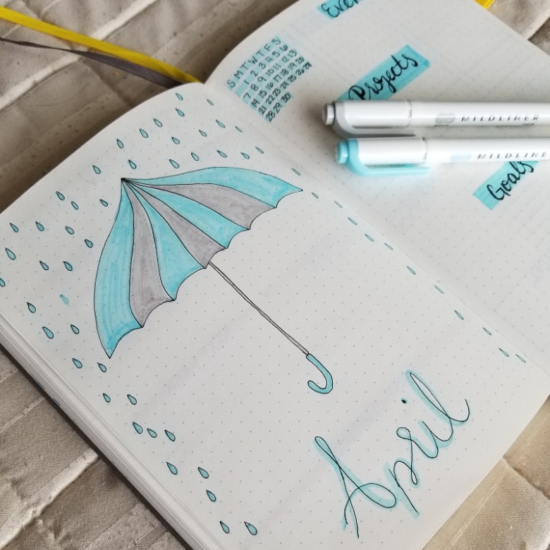 20 Bullet Journal Spring Theme Ideas