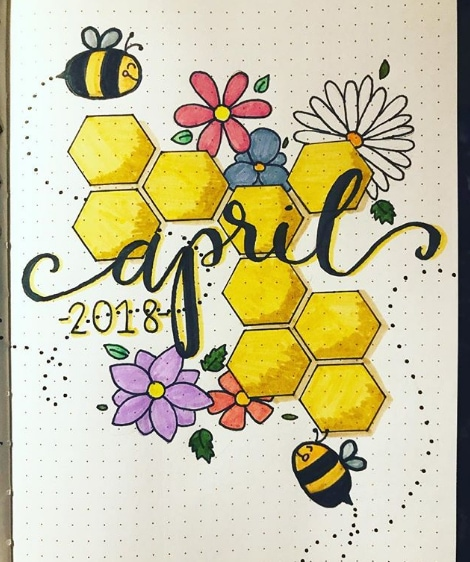 20 Spring Bullet Journal Ideas - 10