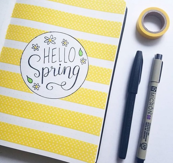 20 Spring Bullet Journal Ideas - 3