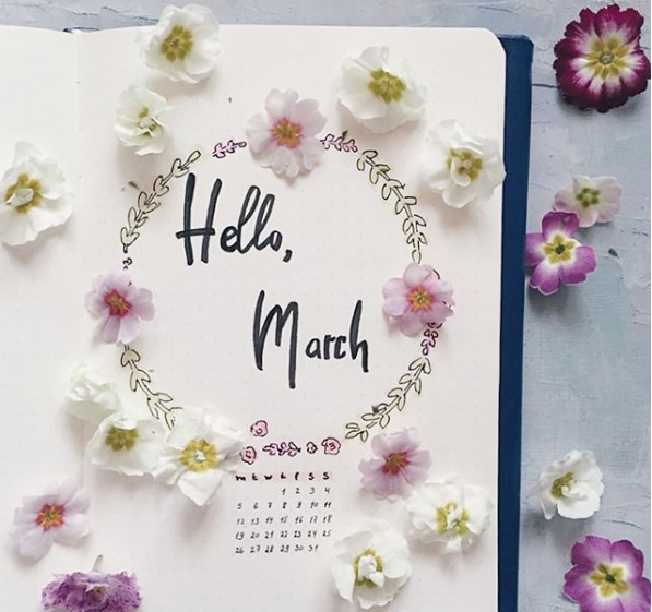 20 Spring Bullet Journal Ideas - 5
