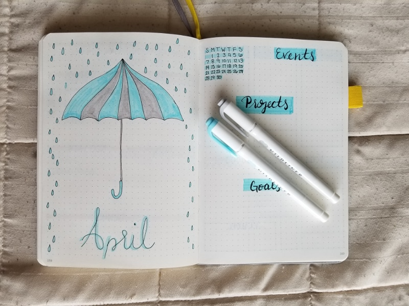 April 2019 Monthly Cover and Layout