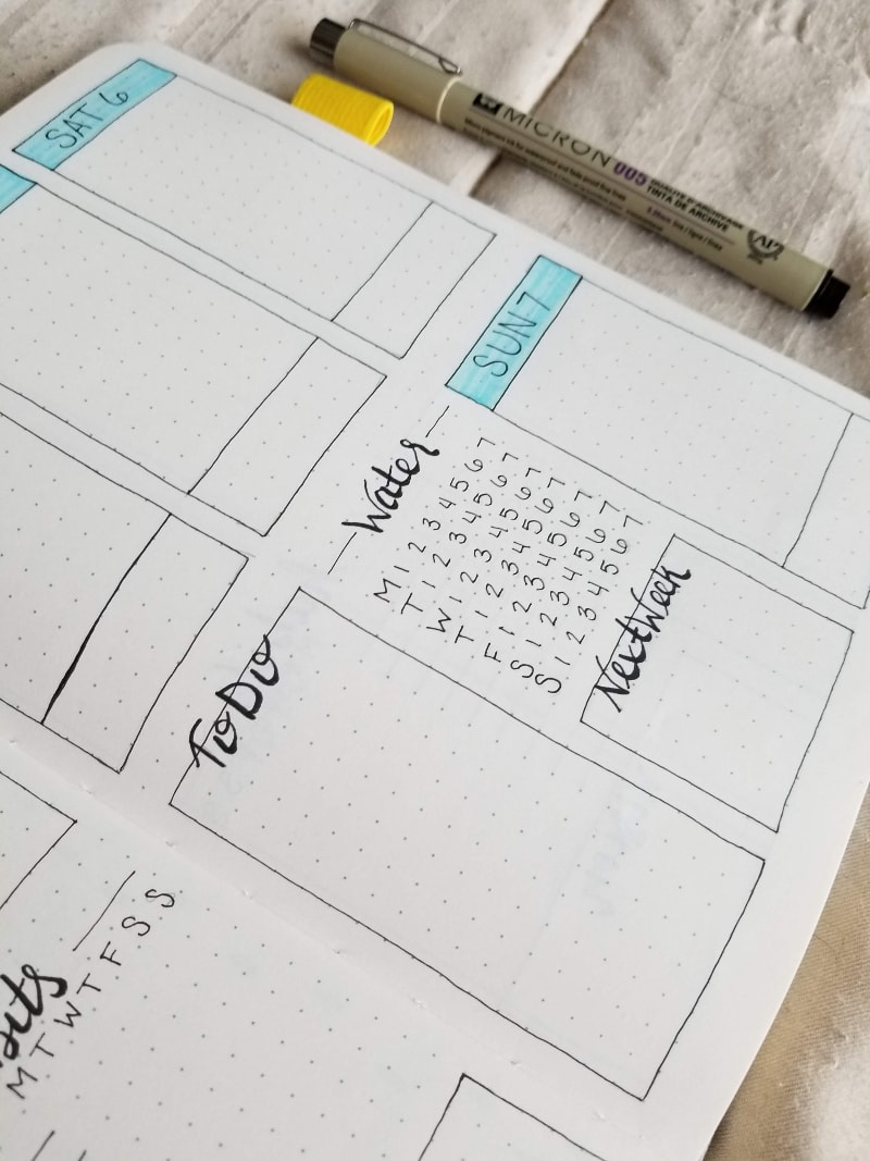 April 2019 Water Tracker and To Do List