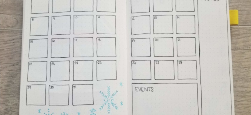 15 Bullet Journal Monthly Spread Ideas