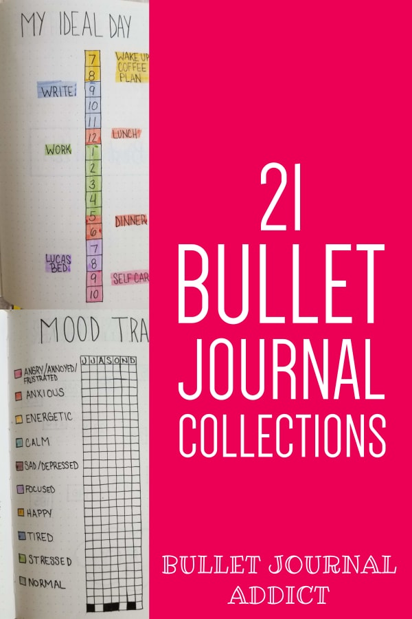 21 Bullet Journal Collections