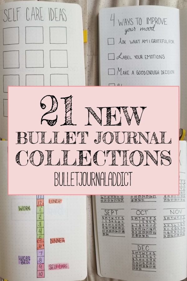 21 New Bullet Journal Collections