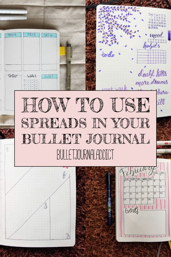 How To Use Spreads In Your Bullet Journal