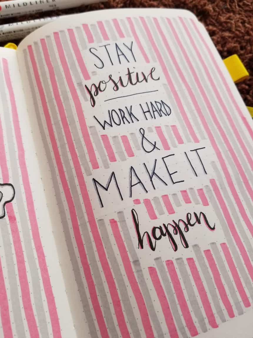 Positively Pink Quote