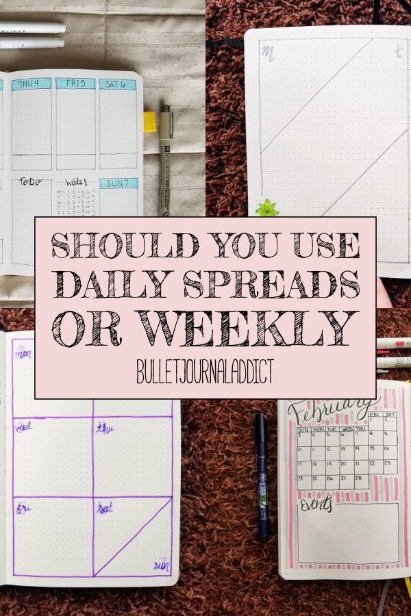 Should You Use Daily Spreads Or Weekly