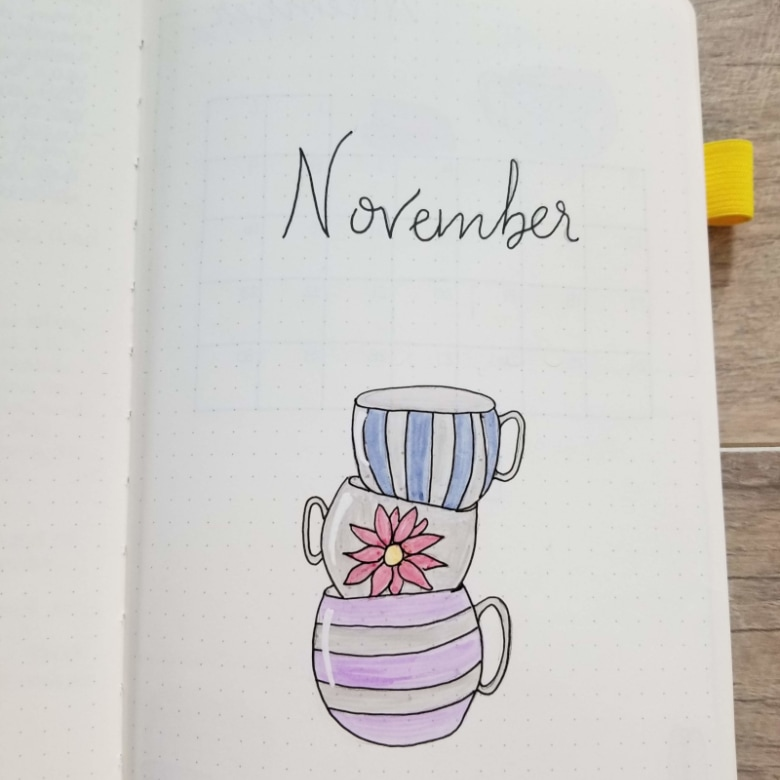 20 Bullet Journal Monthly Cover Page Ideas