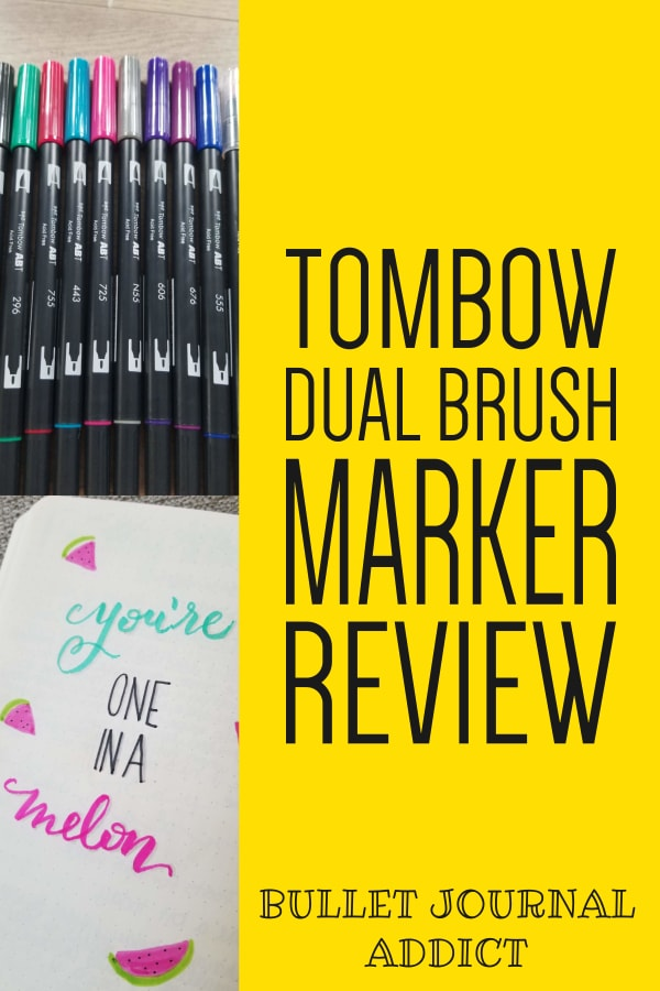 Tombow Dual Brush Marker Review
