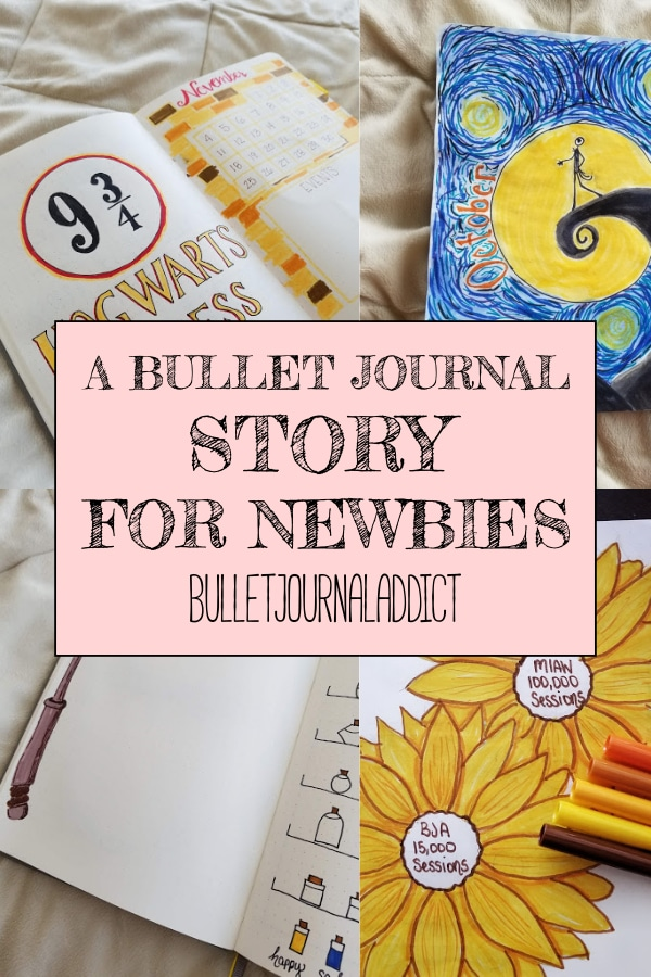 A Bullet Journal Story For Newbies
