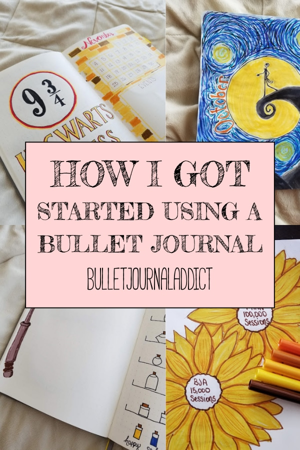 How I Got Started Using A Bullet Journal