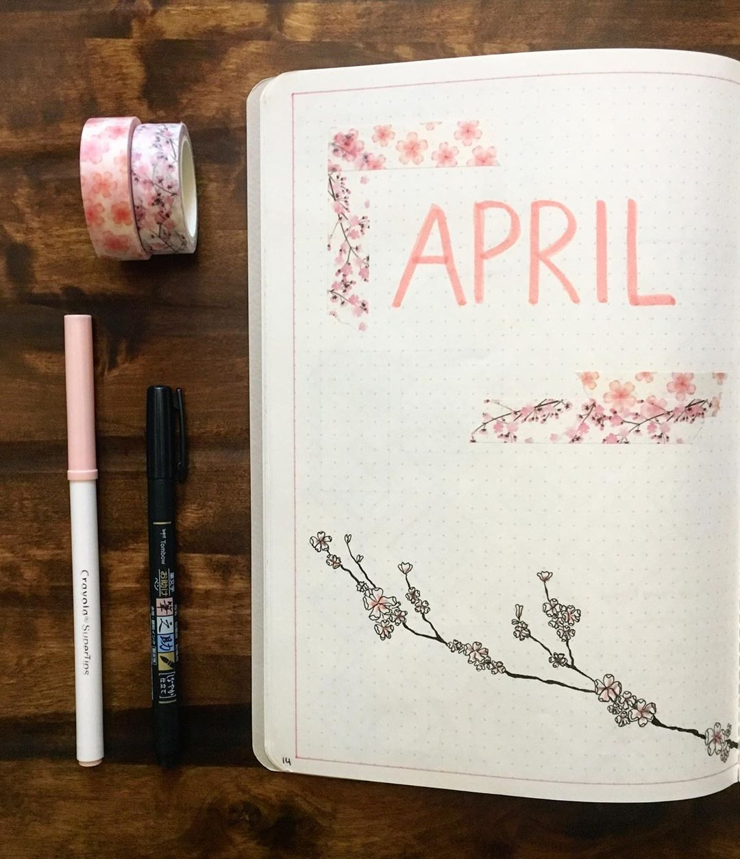 Cherry Blossom Cover Page