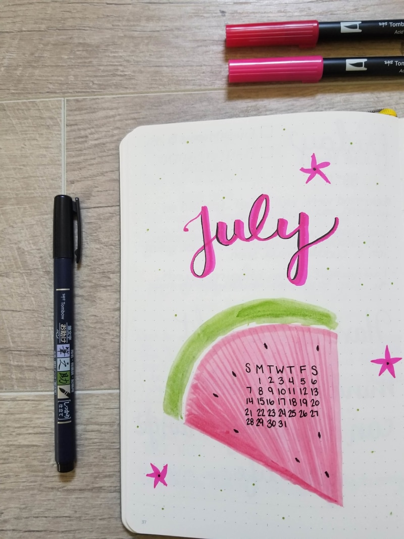 July Watermelon Cover Page
