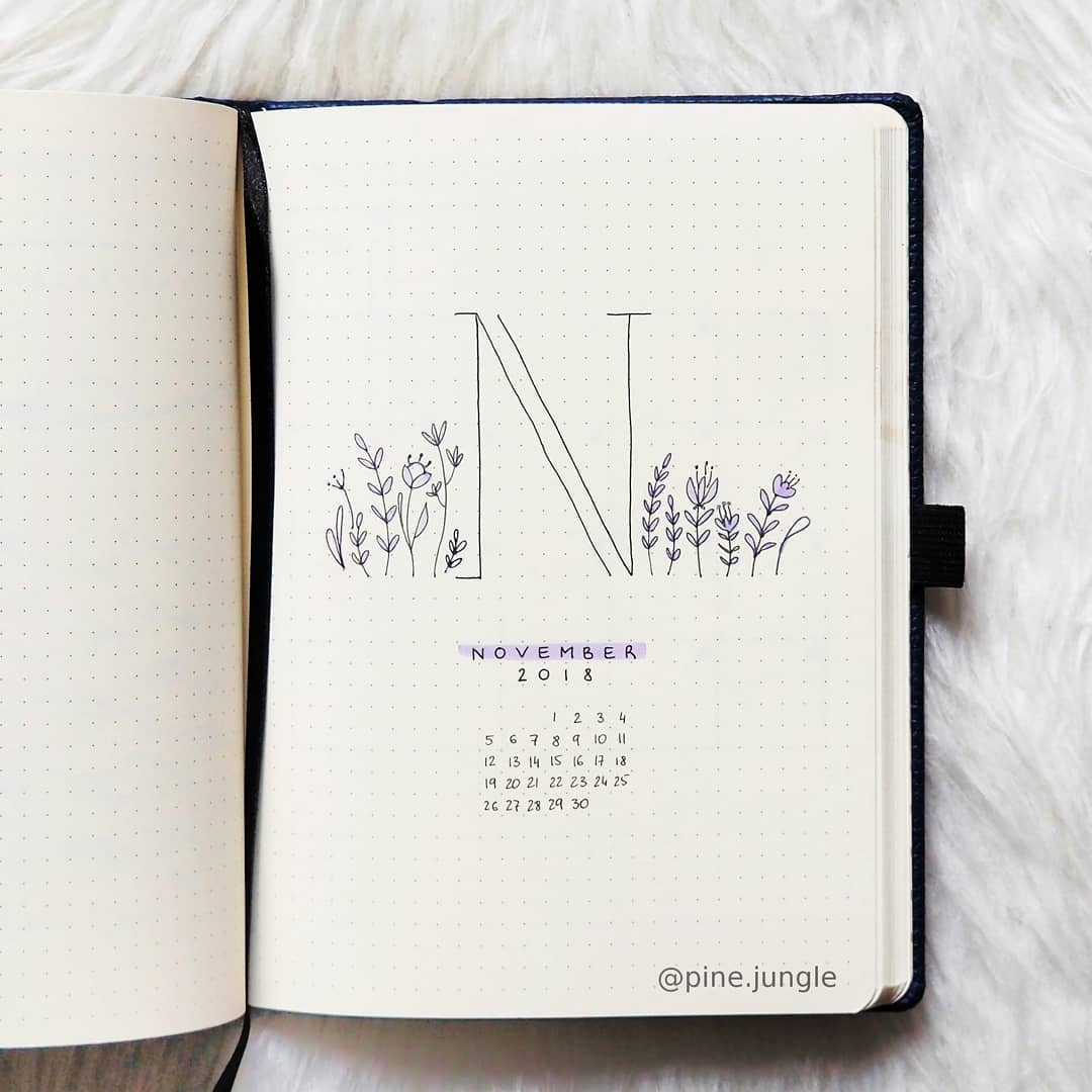 Simple Floral Spread