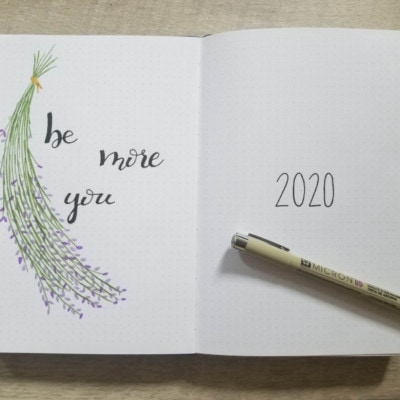 Bullet Journal Setup for 2020