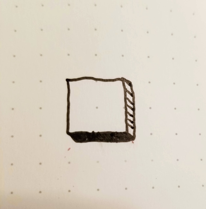 2 types of shadow box styles to fix smudges