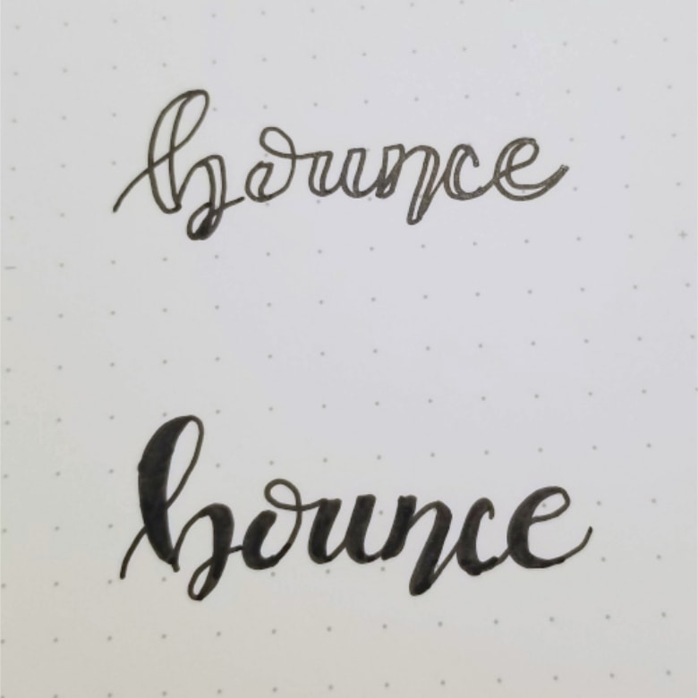 How To Use Micron Fineliners In Hand Lettering
