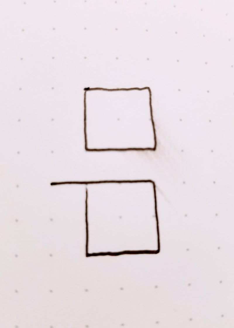 fixing smudges or too long lines in bullet journals 1